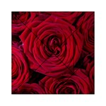 Roses Flowers Red Forest Bloom Acrylic Tangram Puzzle (6  x 6 )