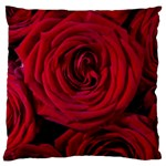 Roses Flowers Red Forest Bloom Large Cushion Case (One Side)
