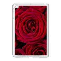 Roses Flowers Red Forest Bloom Apple Ipad Mini Case (white) by Amaryn4rt