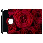 Roses Flowers Red Forest Bloom Apple iPad 2 Flip 360 Case