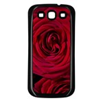 Roses Flowers Red Forest Bloom Samsung Galaxy S3 Back Case (Black)