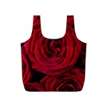 Roses Flowers Red Forest Bloom Full Print Recycle Bags (S)