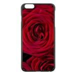 Roses Flowers Red Forest Bloom Apple iPhone 6 Plus/6S Plus Black Enamel Case