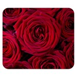 Roses Flowers Red Forest Bloom Double Sided Flano Blanket (Small)