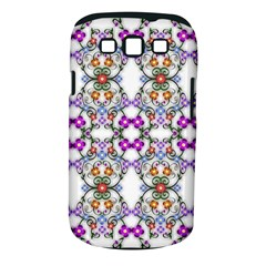 Floral Ornament Baby Girl Design Samsung Galaxy S Iii Classic Hardshell Case (pc+silicone) by Amaryn4rt