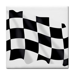 Flag Chess Corse Race Auto Road Tile Coasters by Amaryn4rt