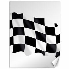 Flag Chess Corse Race Auto Road Canvas 36  X 48