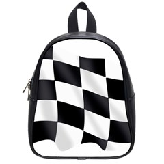Flag Chess Corse Race Auto Road School Bags (small)  by Amaryn4rt