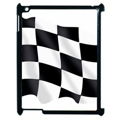 Flag Chess Corse Race Auto Road Apple Ipad 2 Case (black) by Amaryn4rt