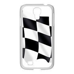 Flag Chess Corse Race Auto Road Samsung Galaxy S4 I9500/ I9505 Case (white) by Amaryn4rt