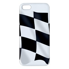 Flag Chess Corse Race Auto Road Iphone 5s/ Se Premium Hardshell Case by Amaryn4rt