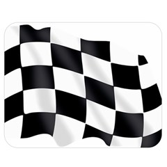 Flag Chess Corse Race Auto Road Double Sided Flano Blanket (medium)  by Amaryn4rt