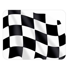 Flag Chess Corse Race Auto Road Double Sided Flano Blanket (large)  by Amaryn4rt