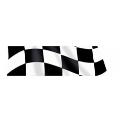 Flag Chess Corse Race Auto Road Satin Scarf (oblong) by Amaryn4rt