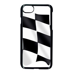 Flag Chess Corse Race Auto Road Apple Iphone 7 Seamless Case (black) by Amaryn4rt