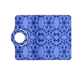 Floral Ornament Baby Boy Design Kindle Fire Hd (2013) Flip 360 Case by Amaryn4rt