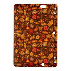 Pattern Background Ethnic Tribal Kindle Fire Hdx 8 9  Hardshell Case by Amaryn4rt