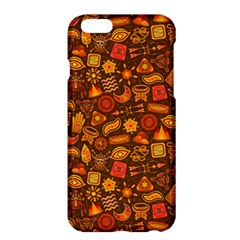 Pattern Background Ethnic Tribal Apple Iphone 6 Plus/6s Plus Hardshell Case by Amaryn4rt