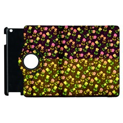 Flowers Roses Floral Flowery Apple Ipad 3/4 Flip 360 Case by Amaryn4rt