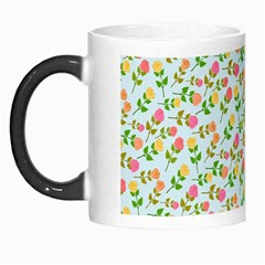 Flowers Roses Floral Flowery Morph Mugs by Amaryn4rt