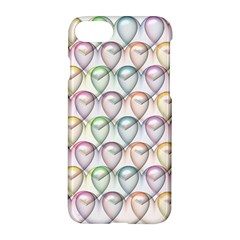 Valentine Hearts 3d Valentine S Day Apple Iphone 7 Hardshell Case by Amaryn4rt