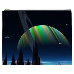 Planets In Space Stars Cosmetic Bag (xxxl)  by Amaryn4rt
