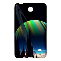 Planets In Space Stars Samsung Galaxy Tab 4 (7 ) Hardshell Case  by Amaryn4rt