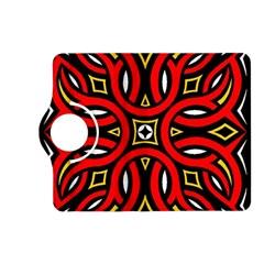 Traditional Art Pattern Kindle Fire Hd (2013) Flip 360 Case by Amaryn4rt