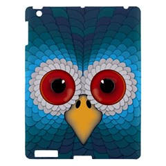 Bird Eyes Abstract Apple Ipad 3/4 Hardshell Case by Amaryn4rt