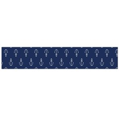 Anchor Pattern Flano Scarf (large)