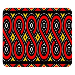 Toraja Traditional Art Pattern Double Sided Flano Blanket (small)
