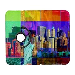 New York City The Statue Of Liberty Galaxy S3 (flip/folio) by Amaryn4rt