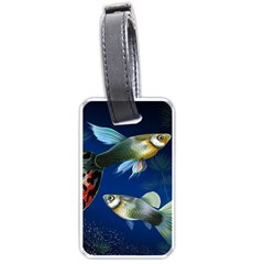 Marine Fishes Luggage Tags (one Side)  by Amaryn4rt
