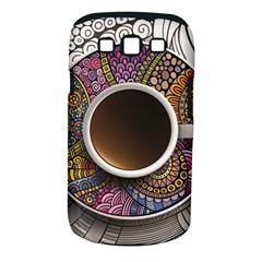 Ethnic Pattern Ornaments And Coffee Cups Vector Samsung Galaxy S Iii Classic Hardshell Case (pc+silicone) by Amaryn4rt