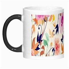 Vector Floral Art Morph Mugs by Amaryn4rt