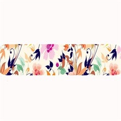 Vector Floral Art Large Bar Mats by Amaryn4rt