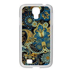 Retro Ethnic Background Pattern Vector Samsung Galaxy S4 I9500/ I9505 Case (white) by Amaryn4rt