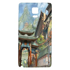 Japanese Art Painting Fantasy Galaxy Note 4 Back Case by Amaryn4rt
