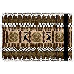 African Vector Patterns Ipad Air 2 Flip by Amaryn4rt