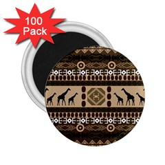 African Vector Patterns  2 25  Magnets (100 Pack)  by Amaryn4rt