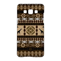 African Vector Patterns  Samsung Galaxy A5 Hardshell Case  by Amaryn4rt