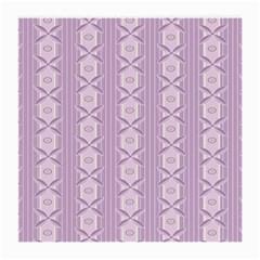 Flower Star Purple Medium Glasses Cloth (2 Side) by Alisyart