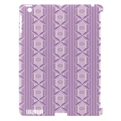 Flower Star Purple Apple Ipad 3/4 Hardshell Case (compatible With Smart Cover) by Alisyart