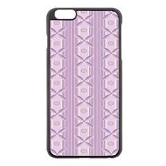 Flower Star Purple Apple Iphone 6 Plus/6s Plus Black Enamel Case by Alisyart