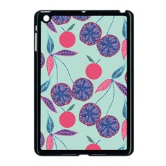 Passion Fruit Pink Purple Cerry Blue Leaf Apple Ipad Mini Case (black) by Alisyart