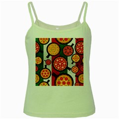 Pizza Italia Beef Flag Green Spaghetti Tank by Alisyart