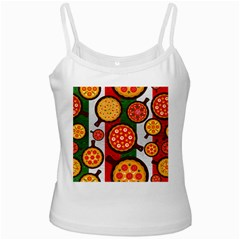 Pizza Italia Beef Flag Ladies Camisoles by Alisyart