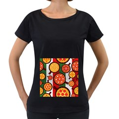 Pizza Italia Beef Flag Women s Loose Fit T Shirt (black) by Alisyart