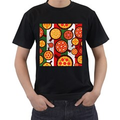 Pizza Italia Beef Flag Men s T Shirt (black) by Alisyart
