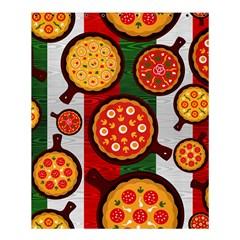 Pizza Italia Beef Flag Shower Curtain 60  X 72  (medium)  by Alisyart